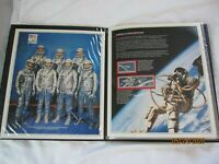 Stamp Folio- America's 25 years of Manned Space Flights