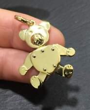 Ciondolo pendant pomellato oro Gold orso bear orsetto