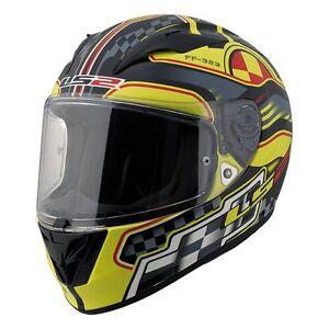 LS2 FF323 Arrow Motorcycle Helmet - Rush Yellow