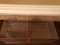 DKNY Delicious Night Empty Pink Plastic Storage Box Collectible