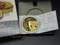 250 Euro Säerin 10 Jahre Euro Starterkit Gold 2011 2 Unzen Auflage 79 Exemplare