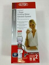 DuPont WFQT130005 Under Counter Kitchen Sink Drinking Water Filtration System