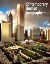 Contemporary Human Geography (2nd Edition), Rubenstein, James M., Good Book