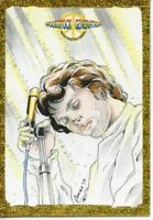 Woodstock Generation Rock Poster Sketch Card Jim Morrison By Eman Casallos