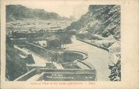 Aden general view of the tanks and cisterns