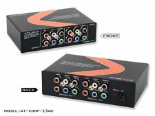 ATLONA 1X3 RGB COMPONENT VIDEO/STEREO AUDIO DISTRIBUTION AMPLIFIER AT-COMP-13AD