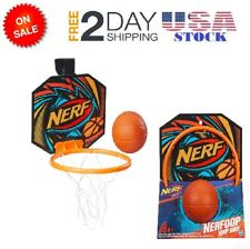 Mini Indoor Nerf Sports Nerfoop Basketball Hoop Net Backboard Sports Kids Play