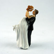 True Romance Couple Figurine  Wedding Cake Toppers Resin Decor Lover Gift