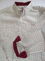 New Mens NEXT Check Shirt 100% Cotton Country Check Casual Shirt  XS S M L XL