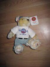 Herrington Teddy Bears 2002 Hard Rock Cafe La Jolla Plush Bear/Free Shipping!