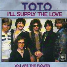 "7 "" PS record single 45 TOTO - I'LL SUPPLY THE LOVE  DISC-COUNT2 boutique"