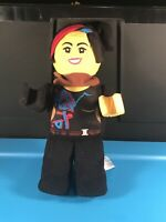 """The LEGO Movie 2: Lucy Plush Doll 14"""" Tall Soft Toy - RARE!"""