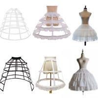 Petticoat Bustle Hoops Lolita Crinoline Underskirt Bridal Wedding Accessories
