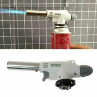 Portable Metal Flame Gun BBQ Heating Ignitions Butane Camping Gas-Torch.