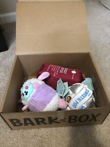 Bark Box Dog Medium/Large Toys Squeaker NEW Spa Day and Valentine's themes NEW