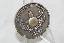 Artificier-Demineur Nedex Compos Sui Challenge Coin
