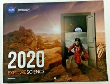 Nasa Calendars 2020: Explore Science Stem Detail Full Color Pictures Detail New