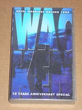 METAL WARRIORS WACKEN 1999 (EDGUY, MAYHEM, ANGRA, RHAPSODY) - VIDEOCASSETTA VHS