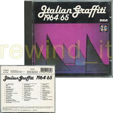 ITALIAN GRAFFITI 1964/65 RARO CD 1989 RCA - MINA CINQUETTI THE ROKES EQUIPE 84
