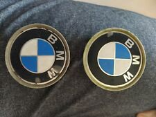 Authentic BMW Hub Caps (2) Used Made In Germany