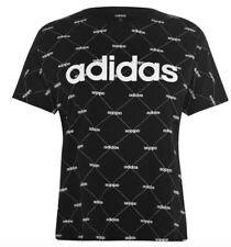 Adidas Damen Shirt Schwarz Weiß Größe S oder M Neu mit Etikett