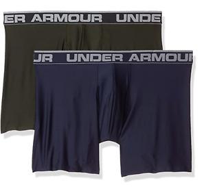 Under Armour Original HeatGear Boxerjock 6 Inch - 2-pack - OPEN PACKAGING