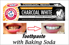 ARM & HAMMER CHARCOAL Tootpaste White Theeth with Peppermint & Baking SODA 75ml