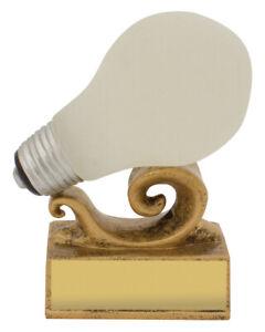 Bright Idea Light Bulb Trophy