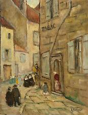 Tableau Sarazin Langres Bourg Haute Marne vers 1960