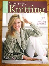 ~JO SHARP CONTEMPORARY KNITTING - 32 PATTERNS SMALL PROJECTS & EASY KNITS - VGC~