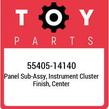 55405-14140 Toyota Panel sub-assy, instrument cluster finish, center 5540514140,