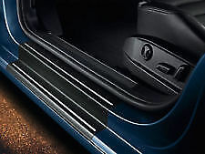 GENUINE VOLKSWAGEN VW POLO DOOR SILL PROTECTION FILM BLACK CHROME 6R4071310041
