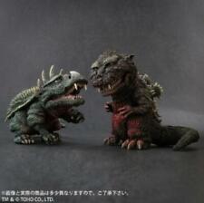 X-PLUS TOY RIC Deforeal Series Godzilla 1955 & Anguirus 1955 Technicolor Ver set