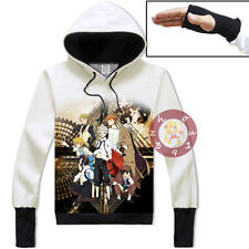 Anime Bungou Stray Dogs Atsushi Unisex Jacket Cosplay Hoodie Fashion Coat#CX-A88