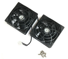 HP Z820 Z620 80mm 12v 0.35a PARTE POSTERIOR Dual Fan 644315-001