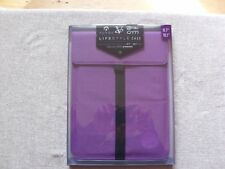 "LIFESTYLE CASE 9.7""  OR 10.1"" TABLETS PURPLE Versus, CnM, @Tab and Novos"