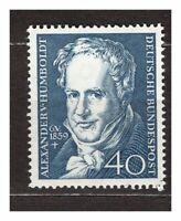 S31614) Germany 1959 MNH A.Von Humboldt 1v