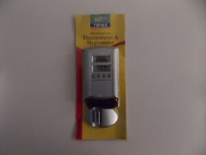 Tenax Multifunction Thermometer and Hygrometer All-in-one