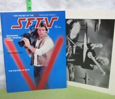 Sftv Magazine 1985 science-fiction New Twilight Zone & Space 1999 issue V Series