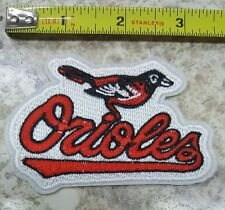 """Baltimore Orioles 3.5"""" Iron On Embroidered Patch ~FREE SHIP!!~"""