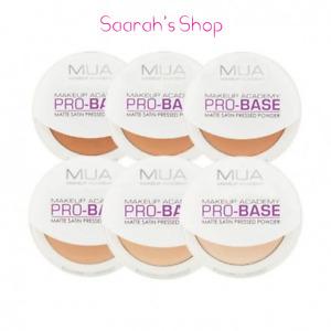 MUA Make Up Academy Pro - Base Matte Satin Pressed Powder Highlighter Fast Post
