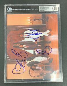2191 Living Colour Multi- Signed Photo AUTO Autograph Beckett BGS BAS