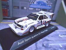 AUDI Sport Quattro S1 1987 Winner Pikes Peak Rallye #1 Röhrl Minichamps 1:43