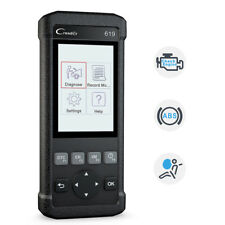 CReader 619 OBD2 EOBD Fault Code Reader Scanner ABS SRS  Diagnostic Scan Tool