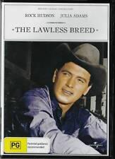 THE LAWLESS BREED - ROCK HUDSON & JULIA ADAMS - NEW & SEALED REGION 4 DVD
