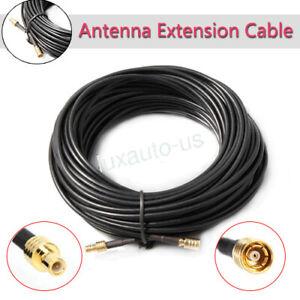 Sirius XM Radio 50' Antenna Extension Cable (50 Feet) Cord Satellite Receiver