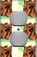 Adorable Yorkie - Yorkie Dog Home Wall Outlet Cover