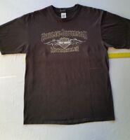 Harley Davidson Mile High, Denver, Colorado XL Men's 2008 Black Logo Shirt