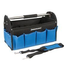 Silverline Tool Bag Open Tote 400 x 200 x 255mm - Heavy Duty Base 748091 Hard