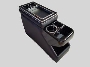 Mittelkonsole Staufach kompatibel zu VW T4 T5 T6 Multivan, Caravel, schwarz